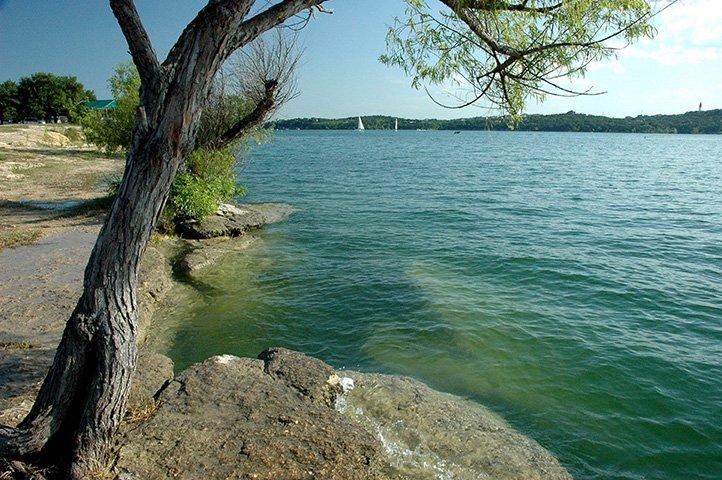 Bob Wentz Park on Lake Travis