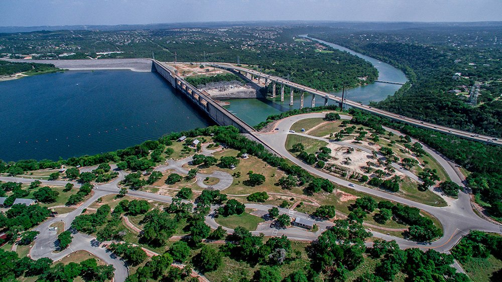 Mansfield Dam Park Lake Travis