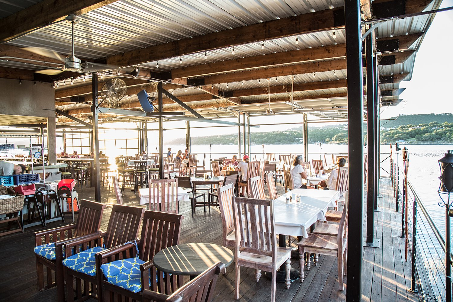 Shack 512, located adjacent to Sandy Creek Marina, on the shore of scenic Lake Travis.