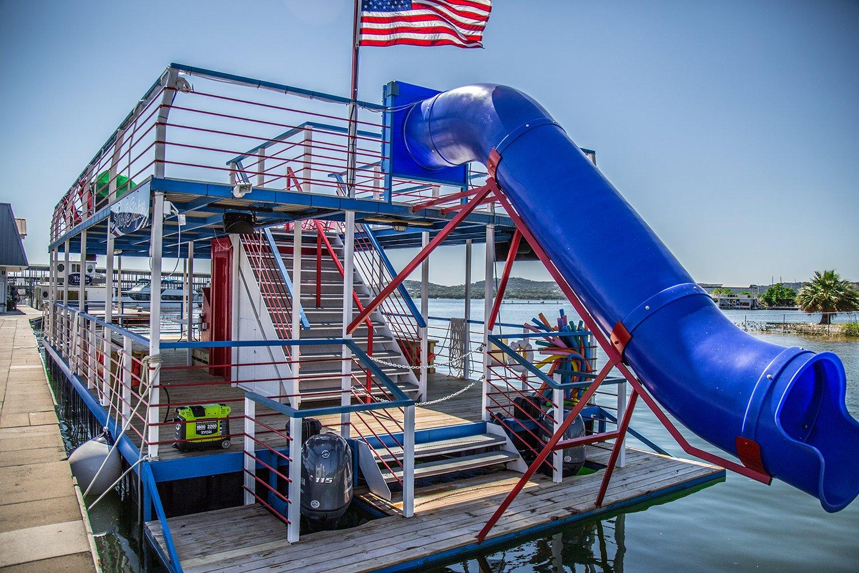 Stars & Stripes Lake Travis Party Barge
