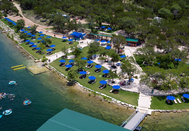 Adventure Island at Lake Travis Zipline Adventures and Waterloo Adventures