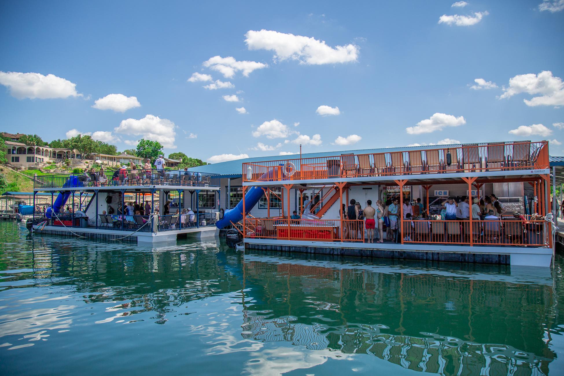 Lakeway Marina's Lake Travis Party Boats