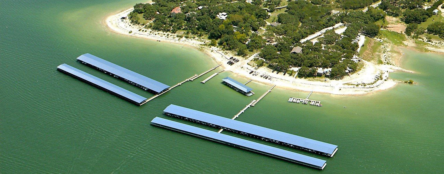 Camper Resort on Lake Travis - Waterfront Lake Travis RV Park
