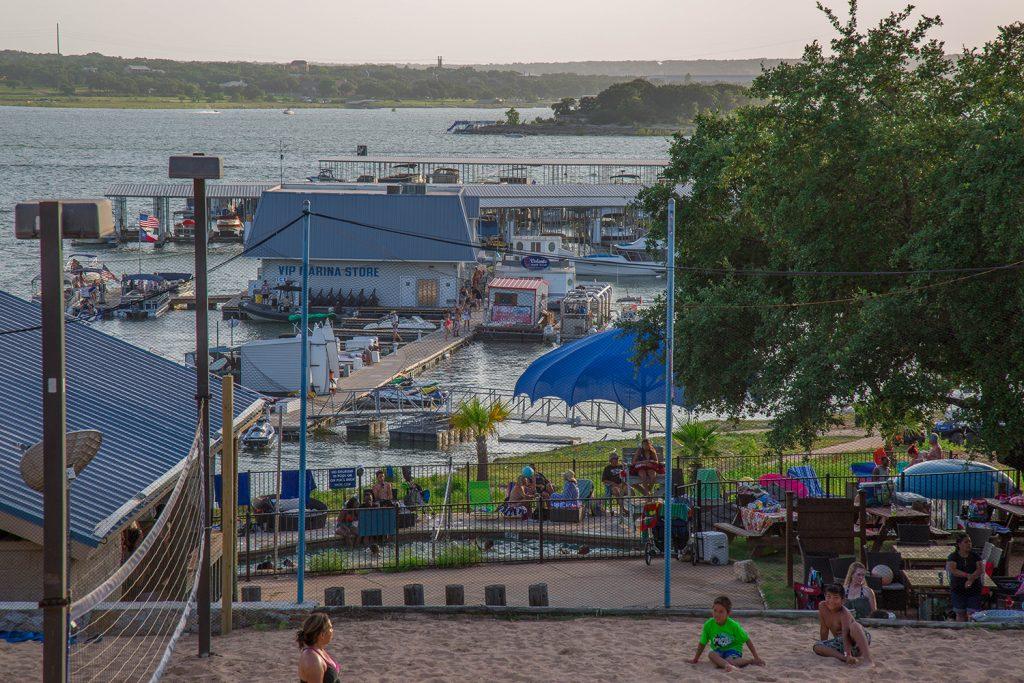 Beachside Billy's Restaurant & Waterpark on Lake Travis