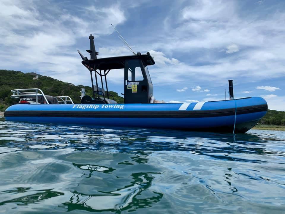 Flagship Towing - Lake Travis Boat Towing