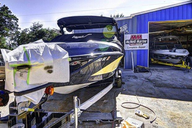 Lake Travis Fiberglass Boat Repair - McNeill MarineLake Travis Fiberglass Boat Repair - McNeill Marine