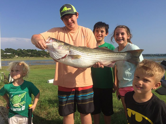 Barefoot Fishing Tours - Lake Travis Fishing Guide