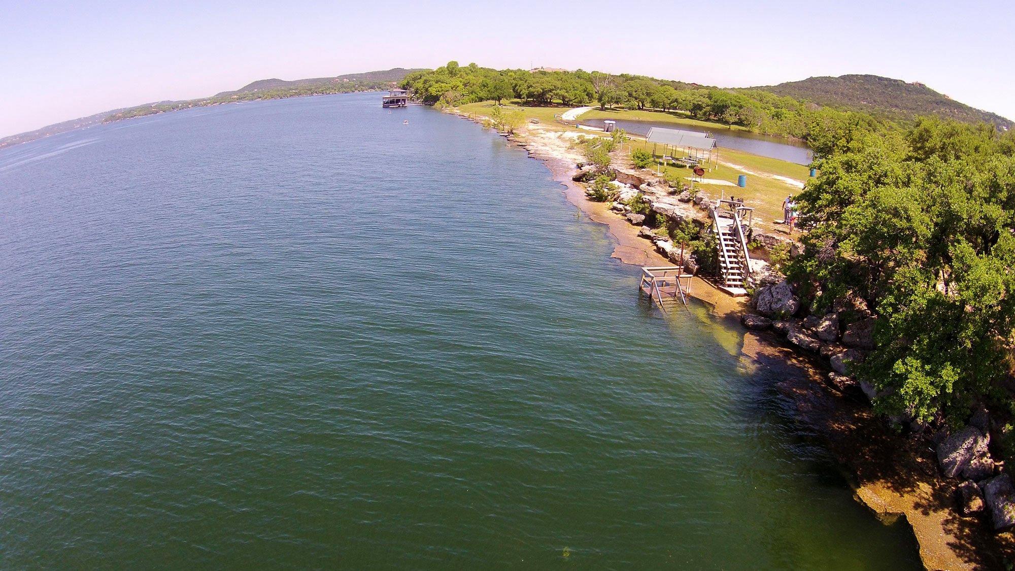 Windy Point Park - Lake Travis Diving