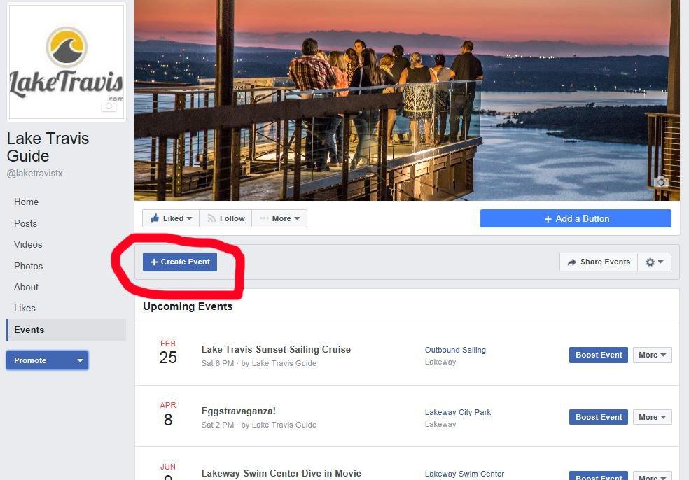 Facebook Events Tutorial 1