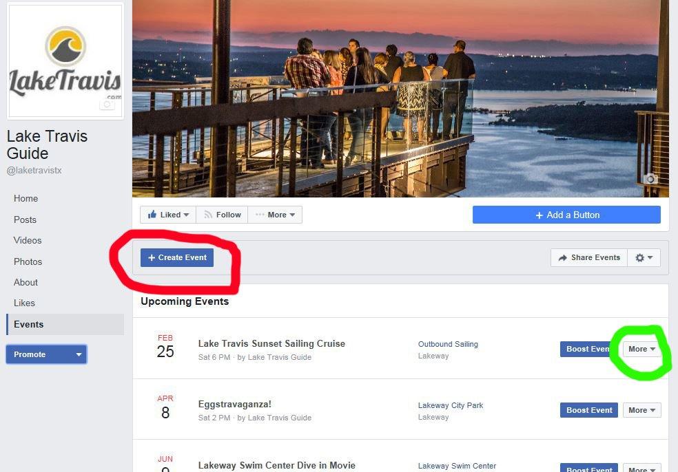 Facebook Events Tutorial 4
