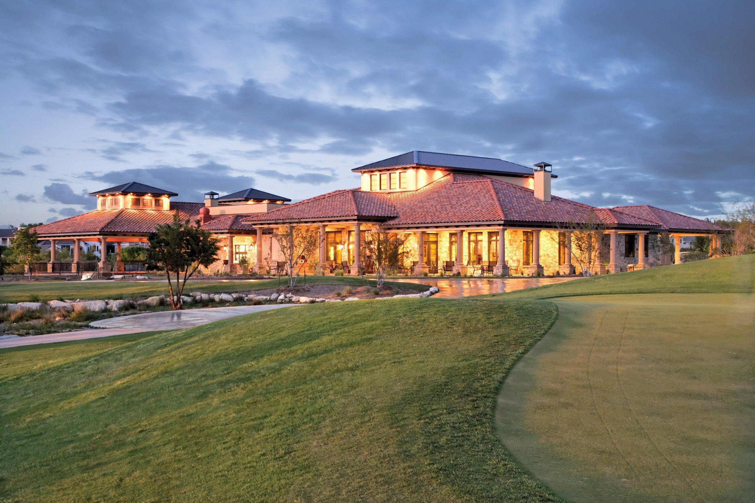 Flintrock Falls Golf Course Clubhouse