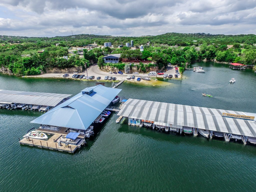 Briarcliff Marina on Lake Travis