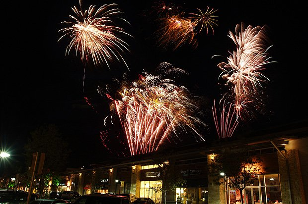Hill Country Galleria Fireworks