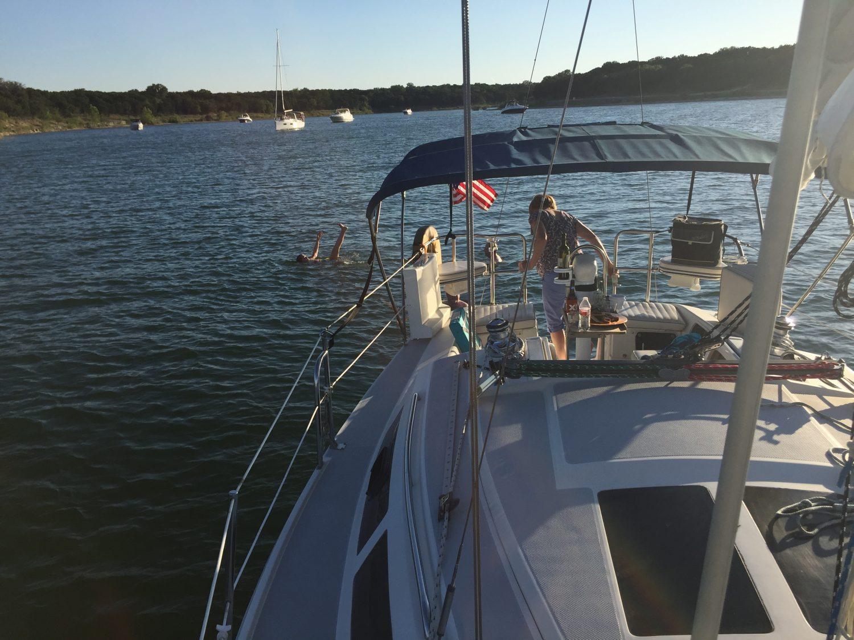 Sailing with sailATX on Lake Travis