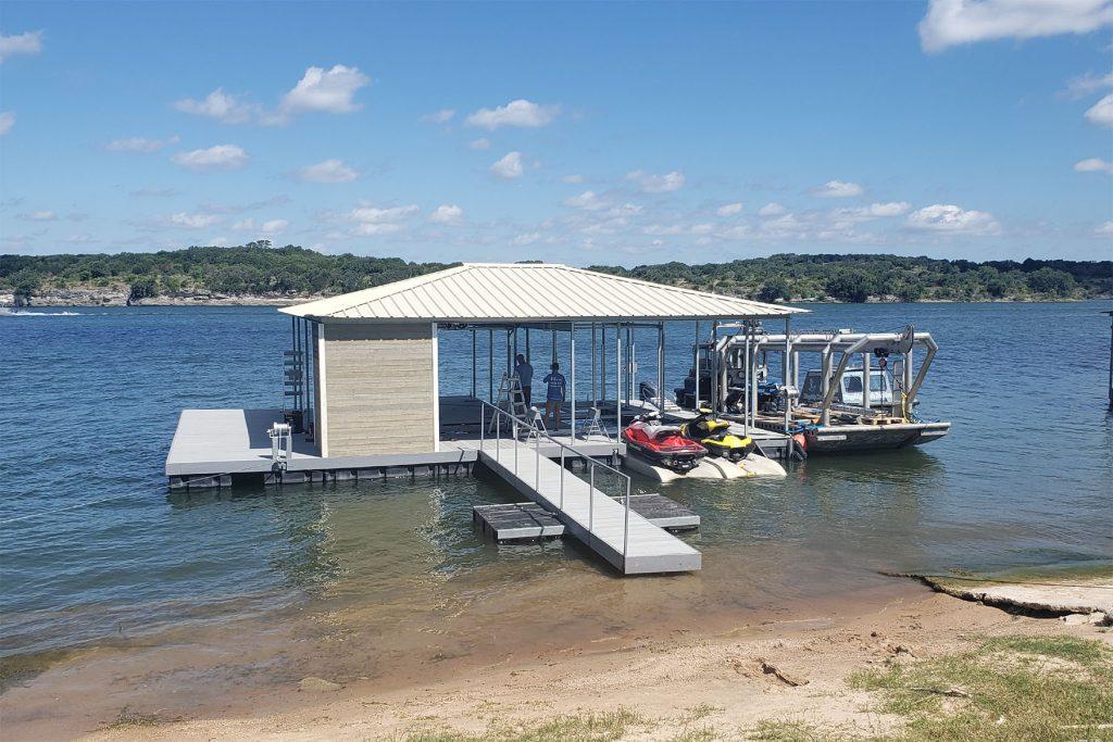 Flagship Dock Services - Lake Travis Dock Services