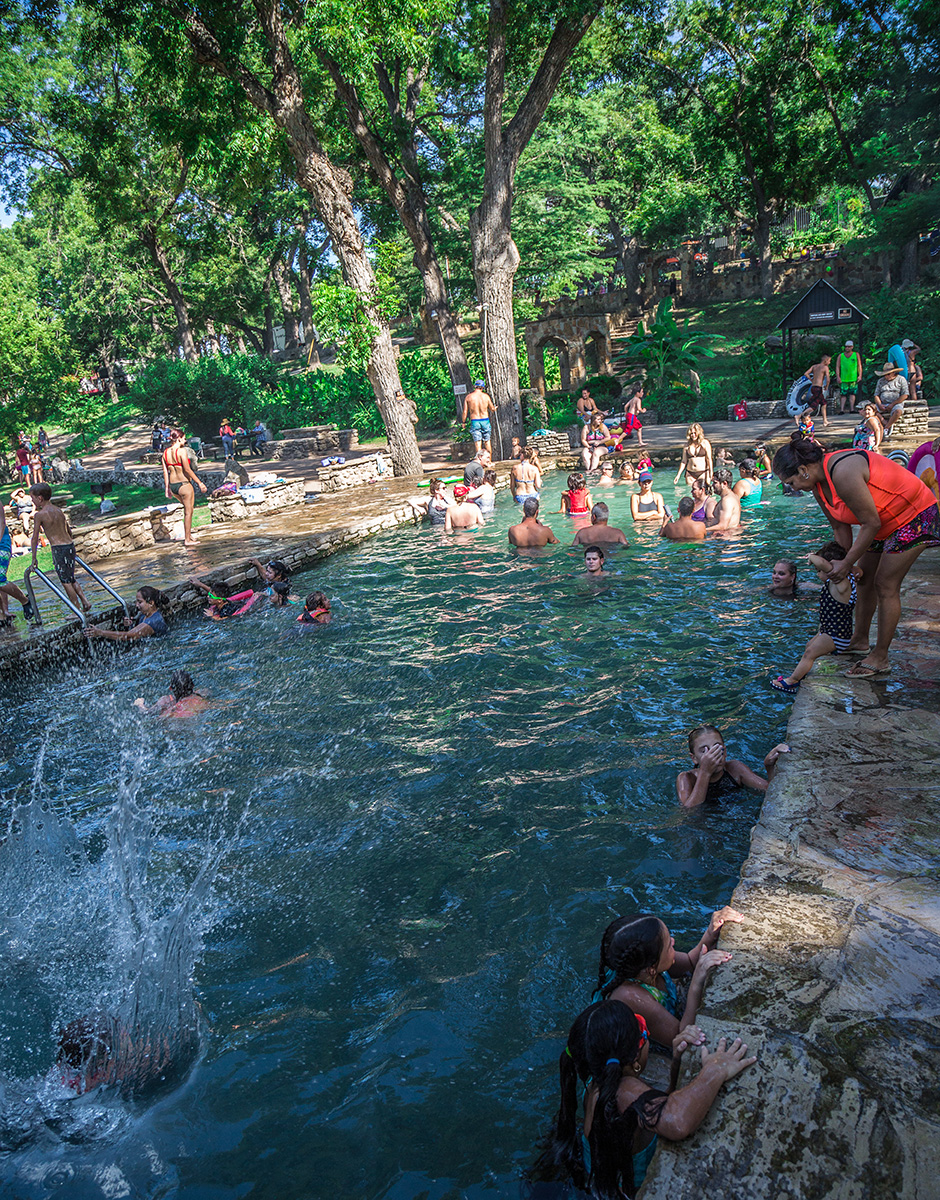 Krause Springs - Hill Country Natural Springs Swimming Hole