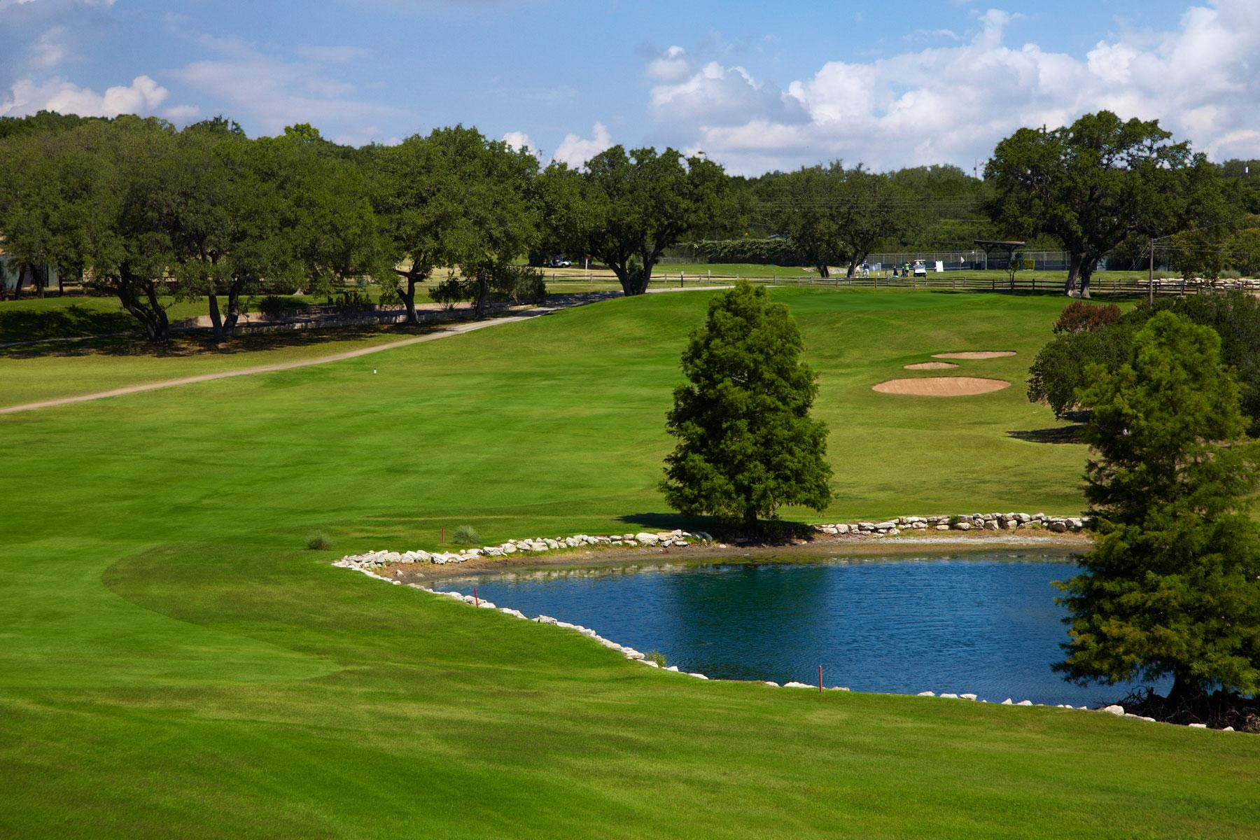 Live Oak Golf Course in Lakeway on Lake Travis
