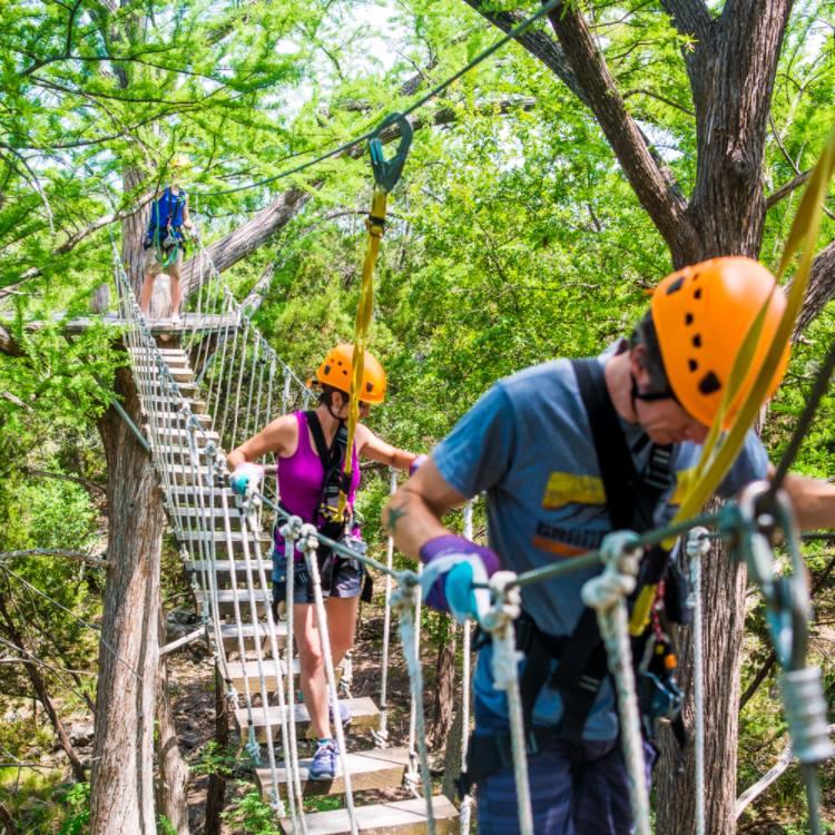 Cypress Valley Canopy Tours - Lake Travis Zipline