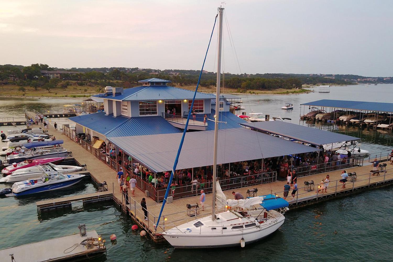 The Gnarly Gar - Lake Travis Floating Restaurant