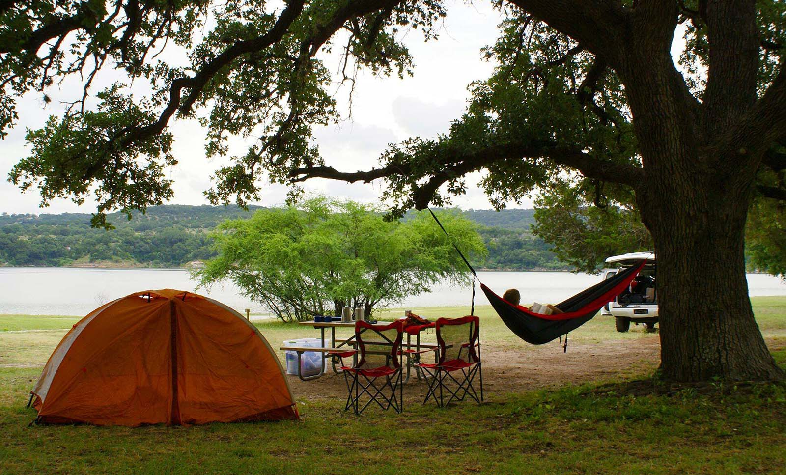 Muleshoe Bend Recreation Area - Lake Travis.  Photo courtesy LCRA