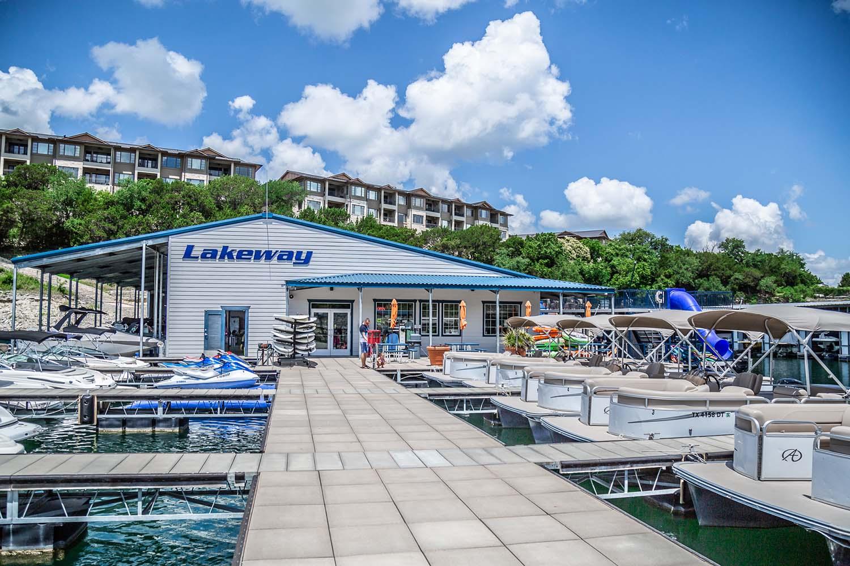 Lakeway Marina Pontoon Boat Rentals