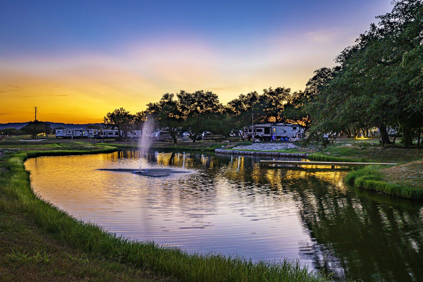 Open Air Resorts - Lake Travis RV Park & Campground