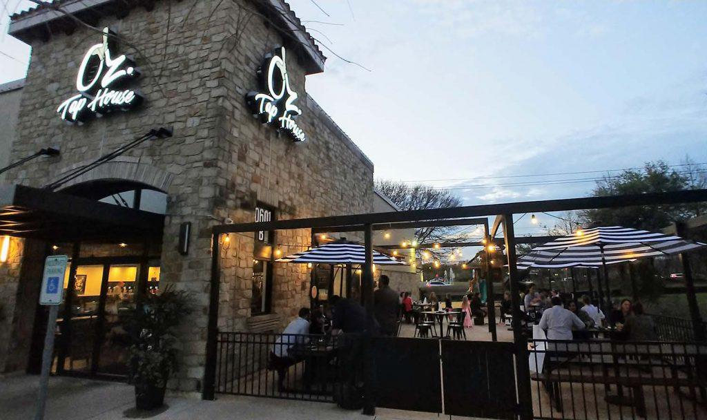 Oz Tap House - Lake Travis Beer Garden