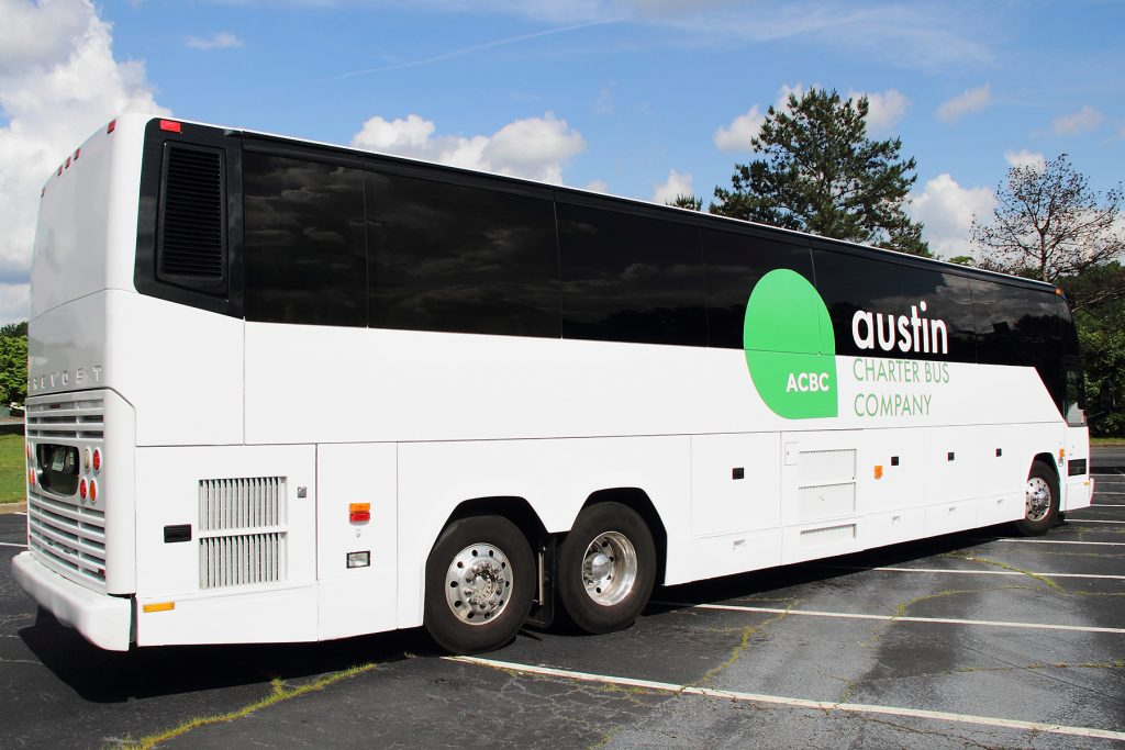 Austin Charter Bus Company - Lake Travis Charter Busses