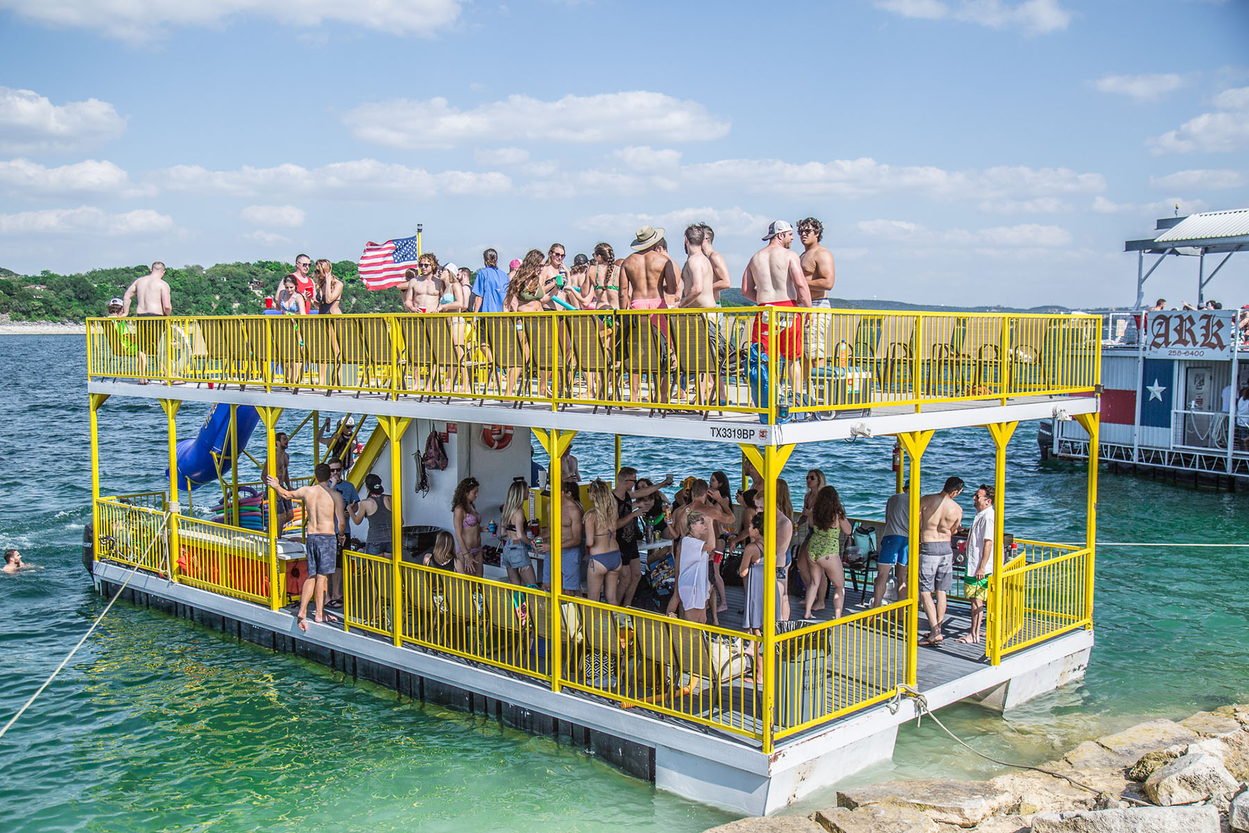 Best lake Travis Party Barges