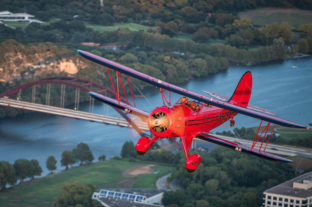 Austin Bi Plane - Lake Travis Aerial Tours