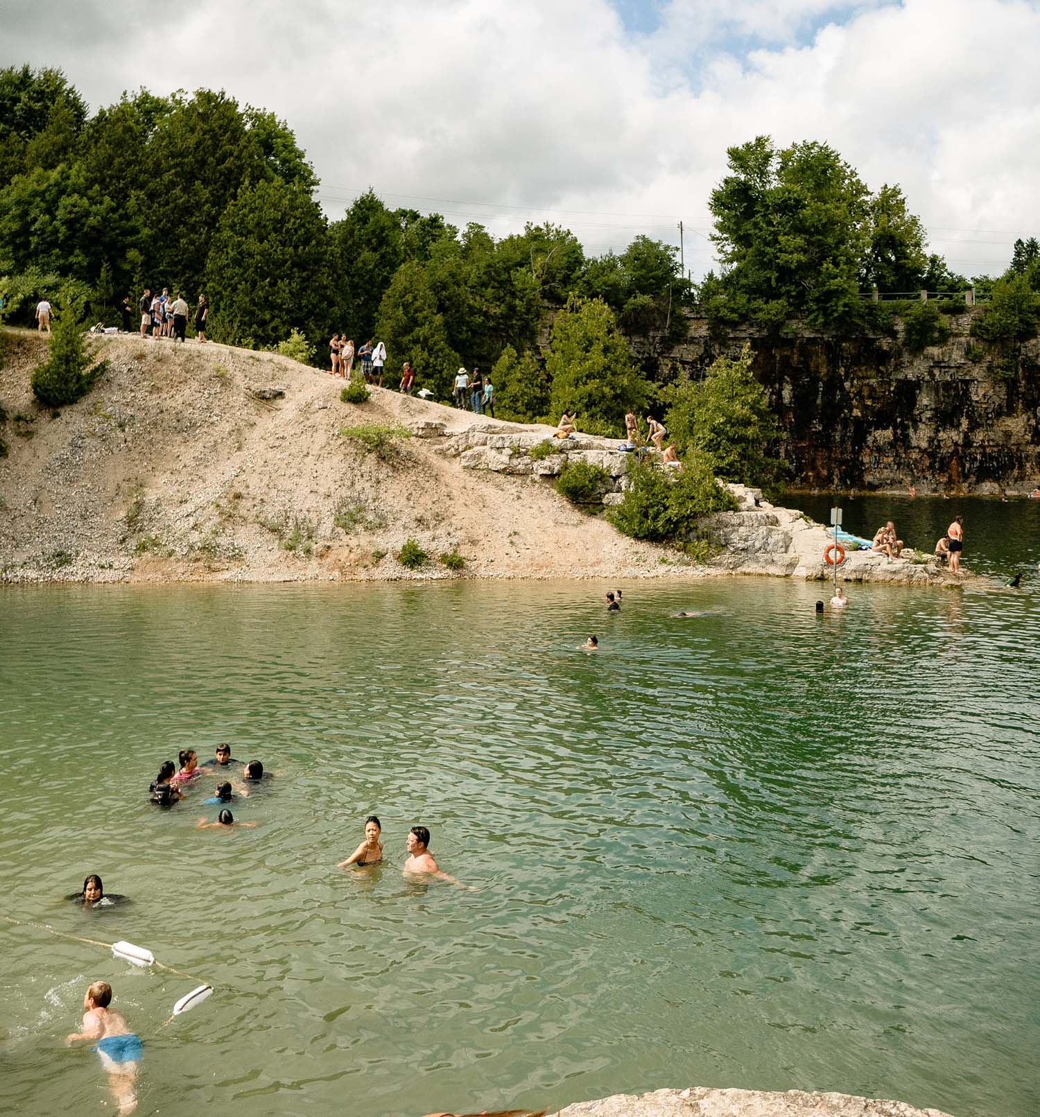 Swim smartly and you will have an enjoyable time on Lake Travis.